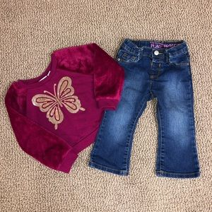 18-24 Months Little Girl's Outfit
